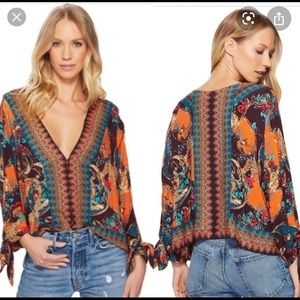 Free People Cath Me If You Can Blouse